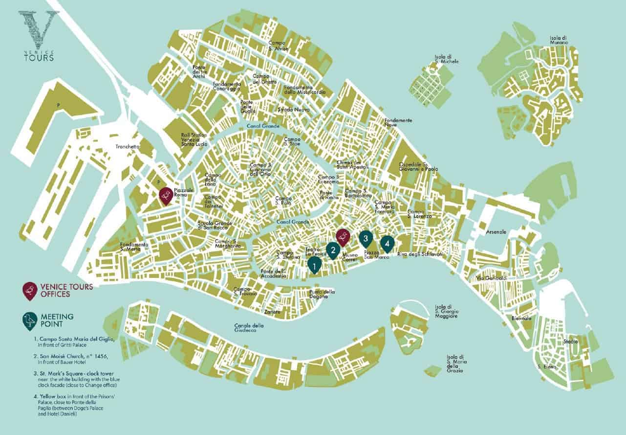 Cartina Venezia Download.Our Venice Map